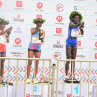 Queniana Flomena Cheyech vence prova feminina da 93ª edição da São Silvestre